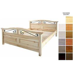 łóżko drewniane haga 140 x 200 marki Frankhauer