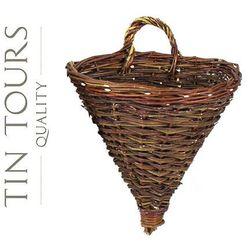 Tin tours sp.z o.o. Kwietnik / kosz na ścianę 38x25x39/46h cm