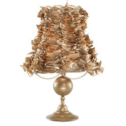 Lampa Nocna ART DECO GOLD 2528 - Złoty