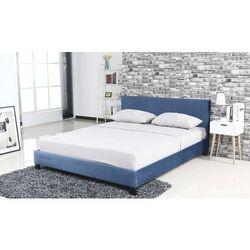 Hliving Aksamitne łóżko nicole