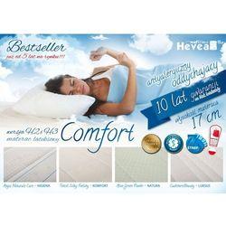 Materac lateksowy hevea comfort h2 marki Bemondi