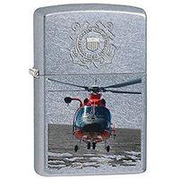 Zapalniczka ZIPPO US U.S.Coast Guard, Street Chrom (Z28900) - produkt z kategorii- Zapalniczki
