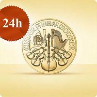 Münze Österreich Wiedeńscy filharmonicy 1/4 uncji złota - wysyłka 24 h! - 24 h