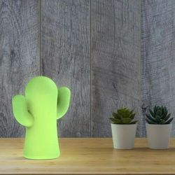 New garden lampa ogrodowa panchito lima indoor & outdoor limonkowa - led, wbudowana bateria marki Sofa.pl