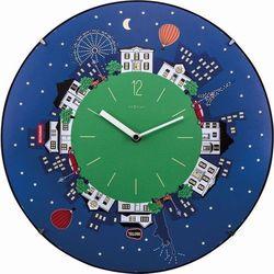 Zegar ścienny Little Planet Dome by Nextime