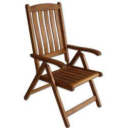Krzesło drewniane składane wielopozycyjne - Villa Toscana (88132), kup u jednego z partnerów