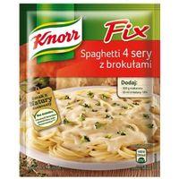 43g fix spaghetti 4 sery z brokułami marki Knorr