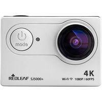 Redleaf  sj5000+ wifi 4k srebrna - produkt w magazynie - szybka wysyłka!, kategoria: kamery sportowe