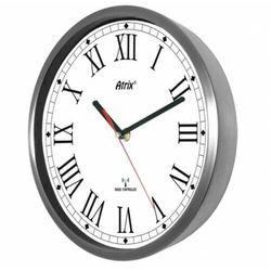 Zegar stal nierdzewna sterowany radiowo #2 marki Atrix