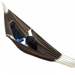 Vidaxl Hamak w kolorze brąz 260 x 150 cm
