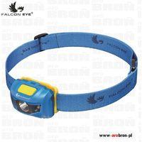 Latarka czołowa Falcon Eye LED FHL0011 -110lm, lekka, baterie AAA, czas pracy 12h