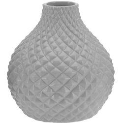 Ceramiczny wazon na kwiaty, dekoracje - okrągły Ø 18 cm (5902891243274)
