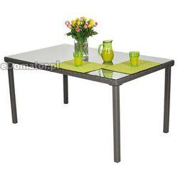 Stół ogrodowy z technorattanu MALAGA (stół ogrodowy)