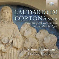 Laudario di Cortona no. 91 - produkt z kategorii- Muzyka klasyczna - pozostałe