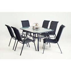 Zestaw mebli ogrodowych kreta taras, stół + krzesła marki Exitodesign