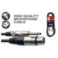 Stagg SMC3XP - kabel mikrofonowy 3m XLR/Jack, EDBF-924BF