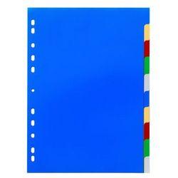 Przekładki do segregatora Durable A4 10 stron 5-kolorowe 6740-27, 82678