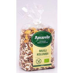 Musli Kolumba Amarello bezglutenowe BIO 160g (płatki, musli, otręby)