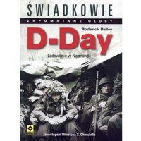 D-Day Lądowanie w Normandii Bailey Redrick (9788372438461)
