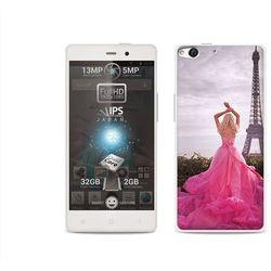 Foto Case - Allview X1 Soul - etui na telefon Foto Case - różowa sukienka (Futerał telefoniczny)