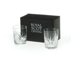Royal Scot Crystal Szklanki Highland do Whisky 210ml 2szt.