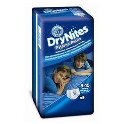Pieluchomajtki  dry nites large - boys 27-57 kg, 9 szt. wyprodukowany przez Huggies