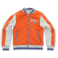 Diesel  kurtka dziecięca szary pomarańczowy s