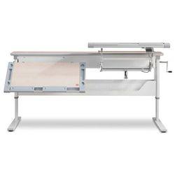 Ergodesk Podwójne biurko regulowane comf-pro family desk