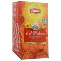 Lipton Czarna herbata  piramida peach mango 25 kopert
