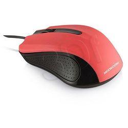 Przewodowa mysz optyczna  m9 red marki Modecom