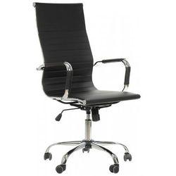 Fotel obrotowy NE-632H czarny - biurowy, gabinetowy - krzesło obrotowe, NE-632H/CZARNY