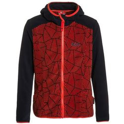 Jack Wolfskin FOREST LEAF Kurtka z polaru fiery red