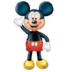 Chodzący balon foliowy Myszka Mickey - 96 x 132 cm