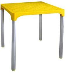 MEGA PLAST stół MP1351 VIVA, żółty, kolor żółty