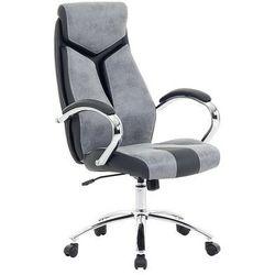 Krzesło biurowe szare - fotel biurowy obrotowy - meble biurowe - FORMULA 1