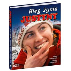 Bieg życia Justyny, książka w oprawie twardej