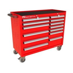 Wózek warsztatowy TRUCK z 13 szufladami PT-214-19 (5904054409329)