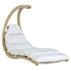 Drewniany fotel hamakowy, ecru Swing Lounger