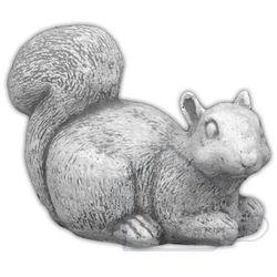 1 Figura ogrodowa betonowa jedząca wiewiórka 2cm