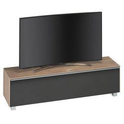 Stolik TV soundconcept 160cm czarny/jasny dąb, 77307073
