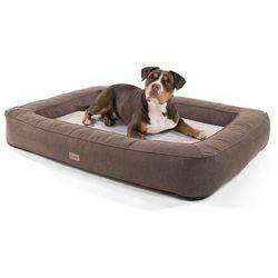 Brunolie bruno, legowisko/kosz dla psa, możliwość prania, ortopedyczne, antypoślizgowe, oddychające, pianka z pamięcią kształtu, rozmiar xl (120 x 17 x 85 cm) (4260552210845)