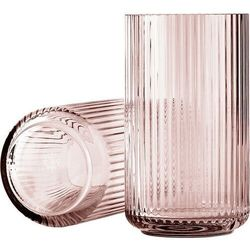 Wazon Lyngby szklany Burgundy 25 cm