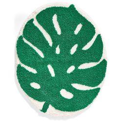 """Dywaniki łazienkowe """"Leaf"""" bonprix zielony"""
