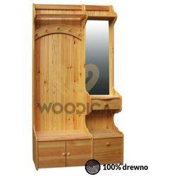 Garderoba 113x200 lewostronna marki Woodica