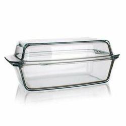 Simax Naczynie szklane prostokątne z pokrywką 5,4 l