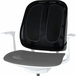 Fellowes Podpórka ergonomiczna pod plecy na krzesło z 2 poduszkami siatkowa , 9191301