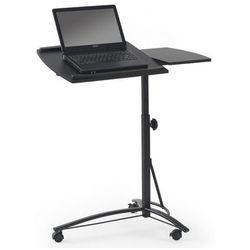 Profeos.eu Regulowane biurko na kółkach ertis - czarne