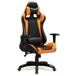 Fotel gabinetowy Halmar Defender czarno-pomarańczowy, 97537