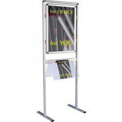 2x3 Tablica informacyjna na stojaku dwustronna a1(594x841mm)