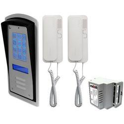 Zestaw 2-rodzinny panel domofonowy wielorodzinny z szyfratorem RADBIT BRC10 MOD